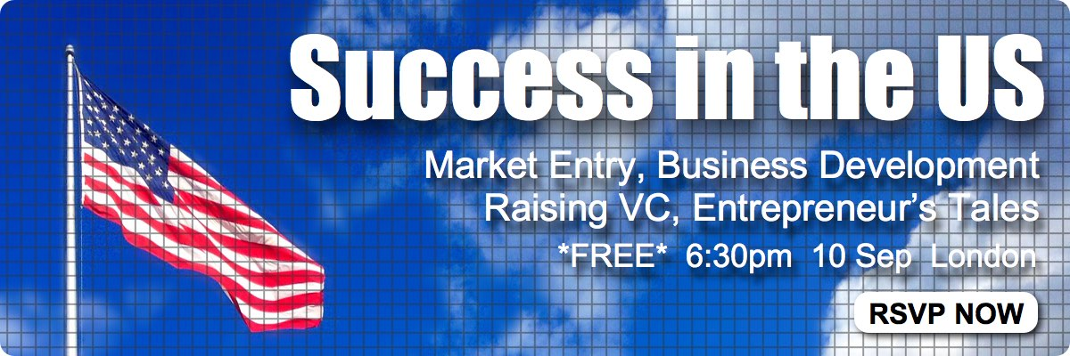 Success in the USA: Biz Dev, Market Entry, US VC