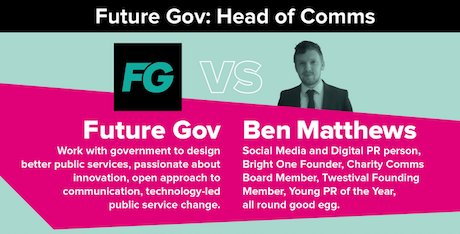 Future Gov: Head of Comms