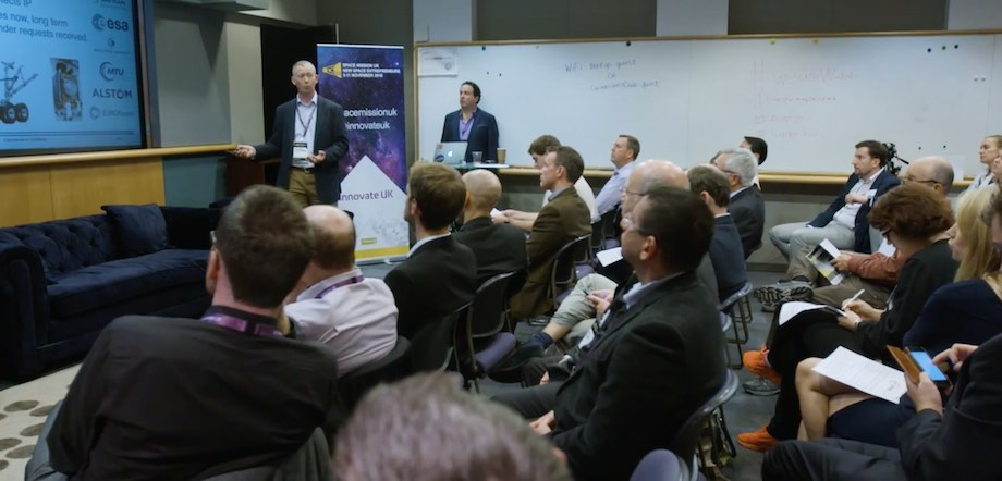 Getting US Investment - Space Mission UK Pitch Event in Silicon Valley