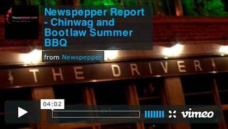 Newspepper Report - Chinwag, Bootlaw & Digital Mission Summer BBQ