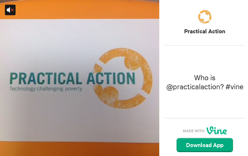 Practical Action on Vine