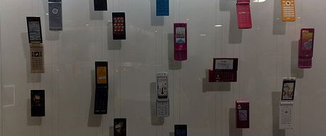 Japanese DoCoMo phones by James Nash (aka Cirrus)