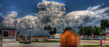 Clouds over IL-RT50 by Richard Cox