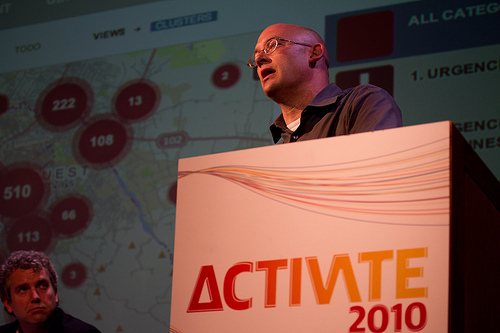 Clay Shirky by Aleks Krotoski