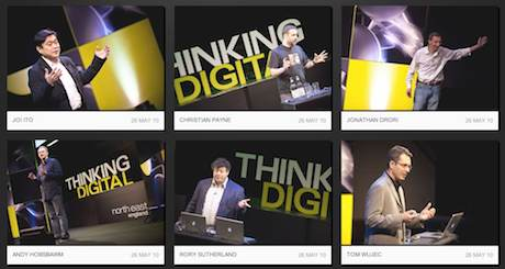 Thinking Digital Conference Videos