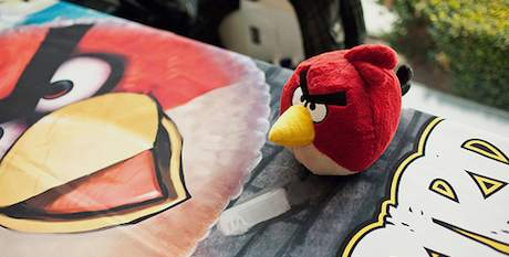 Angry Birds at Game Design Expo 2011 by Vancouver Film School
