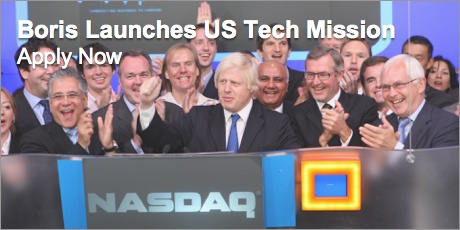 Boris Launches US Tech Mission - 9-14 Feb 2015