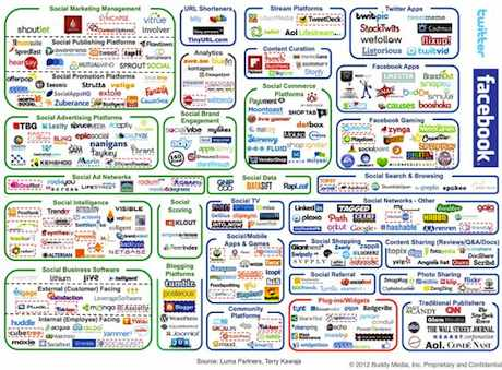 Buddy Media / Luma - Social Media Landscape