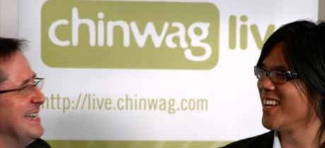 Chinwag Live Banner