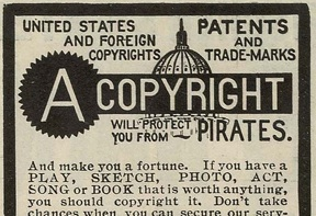A copyright will protect you from PIRATES by Ioan Sameli - http://www.flickr.com/photos/biwook/145765624/