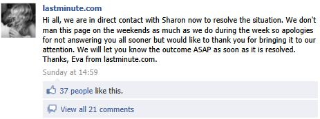 Facebook Customer Service: Lastminute.com Case Study