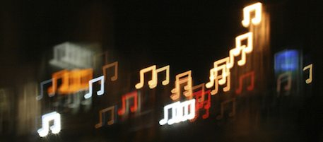 Music Note Bokeh by Daniel Paxton