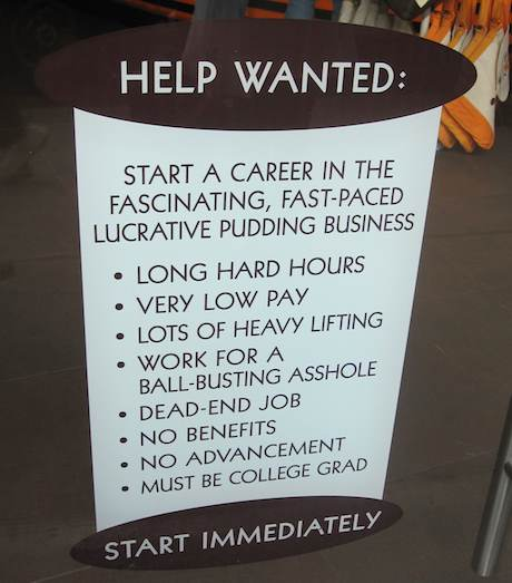 Help Wanted by Sam Michel
