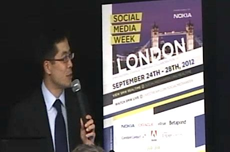 McKinsey Global Institute's Michael Chui speaking at The £800m Elephant in the Room: Social Inside the Enterprise at Social Media Week London Sep 2012