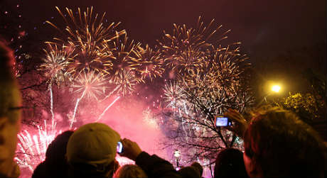 New Year's Eve 2012 - London by Paul Williams