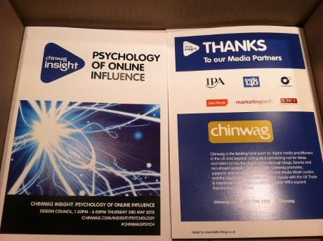 Psychology of Online Influence Brochure