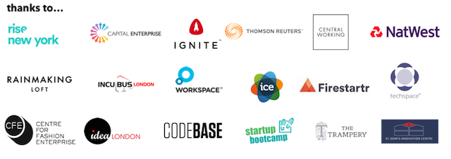 Pitch LDN Partners Logos