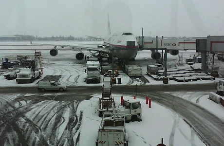 Heathrow Snow