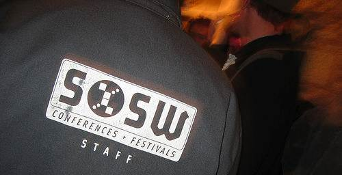 sxsw logo by Colin Mutchler