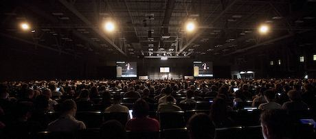 Packed SXSW Interactive Keynote by Mary Sledd