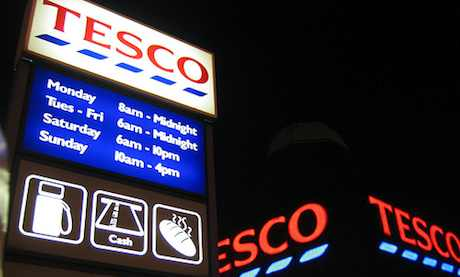 Tesco by Gordon Joly