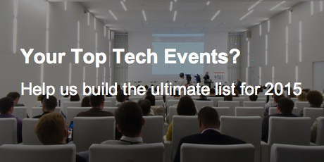 Your Top Tech Events